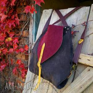 atrakcyjne kolorowa rogata małgorzata listopadowy las