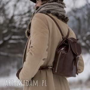 plecakmiejski plecaki skórzany mały plecak