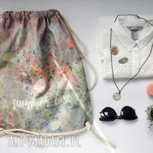 frapujące eco summer time plecak / worek torba