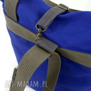 na święta prezenty dziewczyny torba ramię i plecak 2w1, indygo