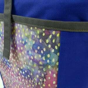na święta prezenty torba ramię i plecak 2w1, indygo