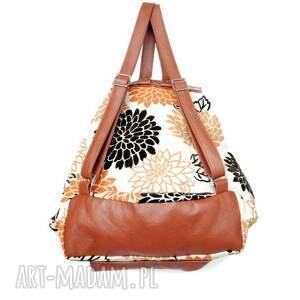 pomarańczowe 39 -0001 wielobarwny damski plecak