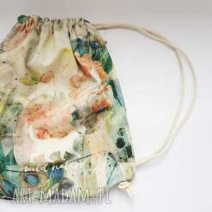 bawełna wild nature plecak / worek torba