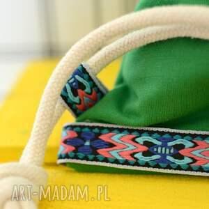 plecaki eko worek aztec natural zielony