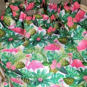 worek plecak flamingi