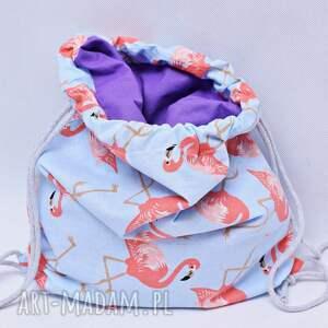 oryginalne worek plecak flamingi