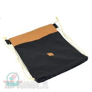 eleganckie plecaki worek worek- plecak washable paper
