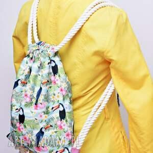 plecak plecaki worek wodoodporny tukany