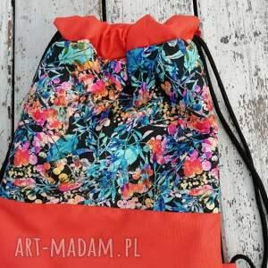 pomarańczowe workoplecak, plecak