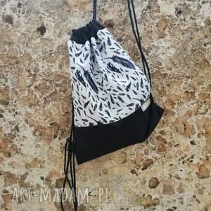 hand made woreczek workoplecak, plecak, torba