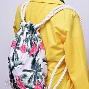ręcznie zrobione worek plecak workoplecak wodoodporny