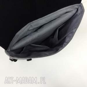 plecak czarne na laptopa