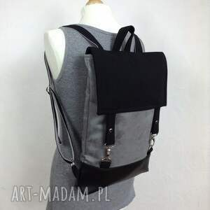 szare plecak-na-laptopa plecak na laptopa