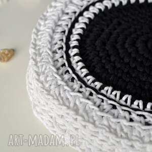 handmade podkładki stół komplet podkładek 4 szt