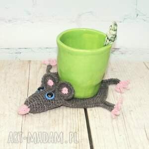 eleganckie podkładki szczur szczurek - podkładka pod kubek