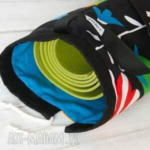 kolorowe podróżne joga bawełniany worek - pokrowiec na