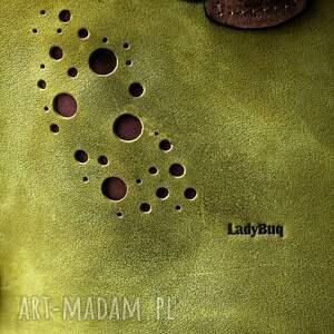 brązowe podróżne skórzana torebka piękna torba z naturalnej skóry