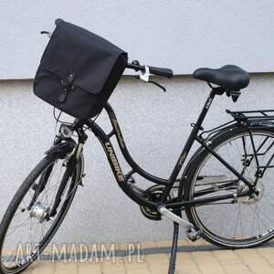 unikalne podróżne rower sakwa rowerowa toskania czarna