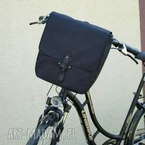 podróżne torba sakwa rowerowa toskania czarna