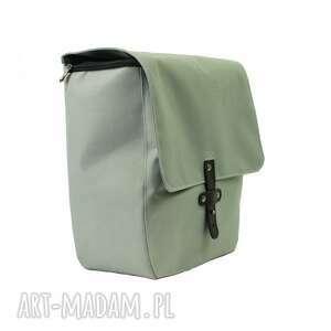 podróżne torba sakwa rowerowa toskania jasno szara