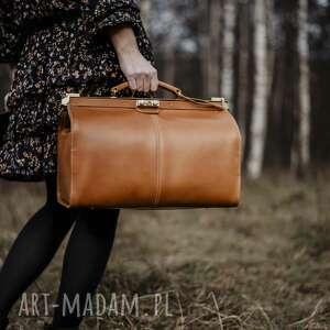 ręcznie wykonane podróżne kufer skórzany podróżny/ torba