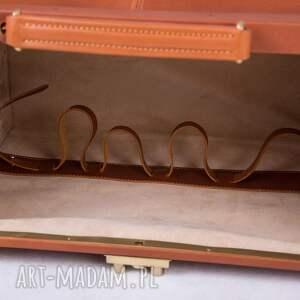 kufer skórzany podróżny/ torba