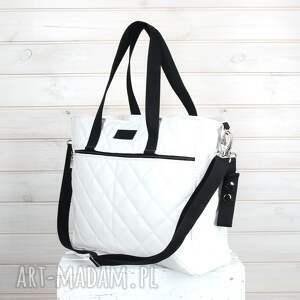 096267f44326f ręczne wykonanie podróżne torba do wózka biała wodoodporna pikowana pojemna.  awangardowe podróżne torba do wózka biała wodoodporna