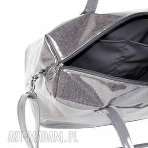 6e2666195377d torba podróżna grey bagaż podręczny do samolotu