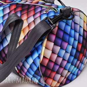 handmade torba podręczna podróżna wodoodporna