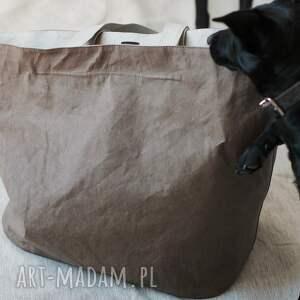 awangardowe podróżne wegańska torba washpapa xxxl z zamkiem