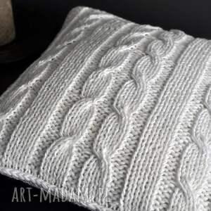 ręcznie robione poduszki poduszka biała poszewka
