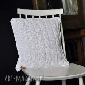 poduszki poduszka biała poszewka