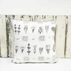poduszki: Komplet 3 poduszek dekoracyjnych z grubej bawłeny od majunto