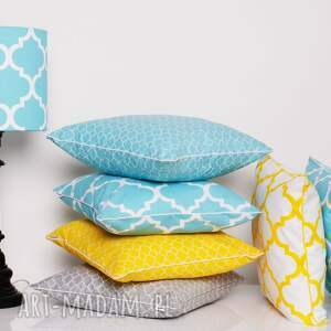 poduszki ozdobne komplet 6 poduszek ozdobnych