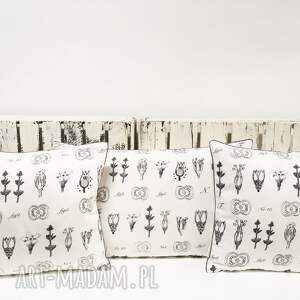 poduszki dekoracyjne komplet 3 poduszek dekoracyjnych