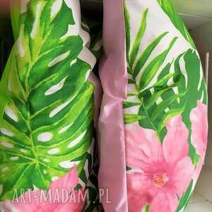 ręcznie robione poduszki komplet wiosennych poduszek