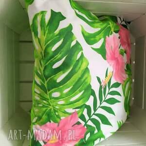 poszewki poduszki komplet wiosennych poduszek