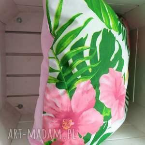 ręcznie robione poduszki poszewki komplet wiosennych poduszek