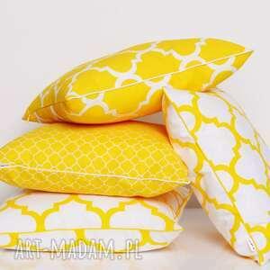 niebanalne poduszki koniczyna poduszka little fresh yellow