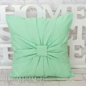 poduszki poduszka pastelowa miętowa