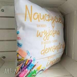 poduszki poduszka dla nauczyciela