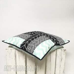 handmade poduszki patchwork jedyna w swoim rodzaju. poszewka patchworkowa
