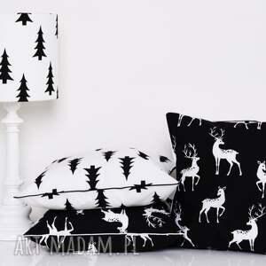 prezent poduszka black trees 40x40cm