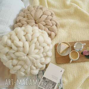 czesankowa poduszki poduszka beżowa