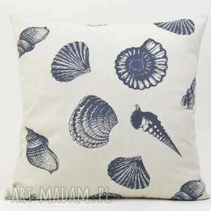 nietuzinkowe poduszki poduszka dekoracyjna muszle 45x45cm