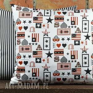 niebanalne poduszki poduszka dekoracyjna z motywem