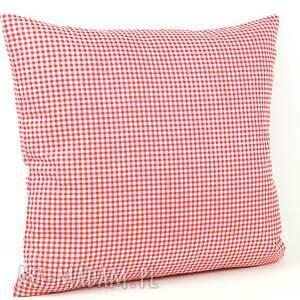 poszewka poduszki czerwone poduszka dekoracyjna 40x45cm