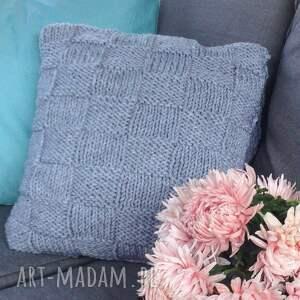 poduszka poduszki szare dekoracyjna quatro