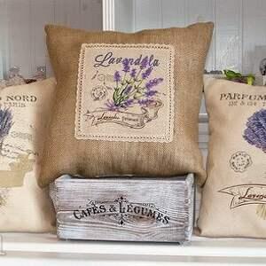 ehomi wyjątkowe poduszki lawenda poduszka dekoracyjna z motywem