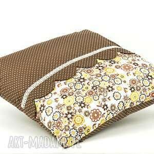 poszewka poduszki beżowe poduszka dekoracyjna 45x45cm